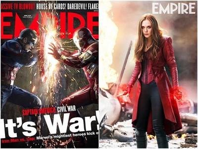 《美國隊長3》英雄換新衣! 緋紅女巫緊身馬甲超火辣