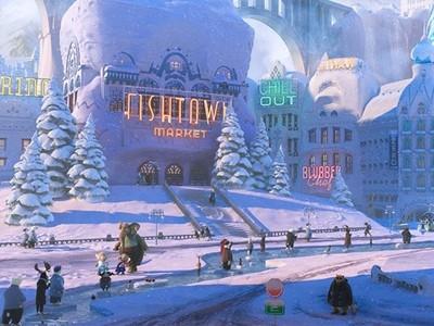 《動物方城市》劇照有《冰雪奇緣》彩蛋!你能找到嗎?