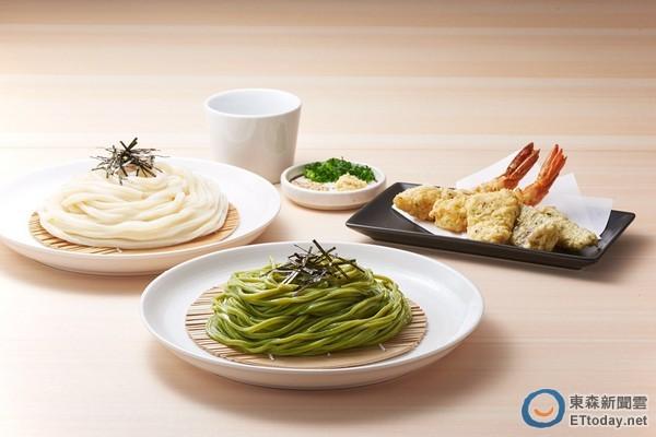 只有台灣有 nana's green tea三井店限定抹茶烏龍麵