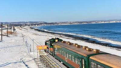 流冰號的最後一個冬天,再見了鄂霍次克海邊的小火車