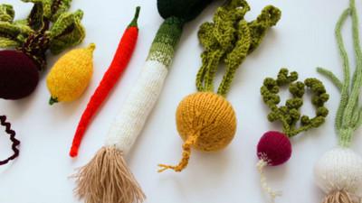 「手作毛線蔬果」不喜歡吃,也可以靠揉捏舒壓喔