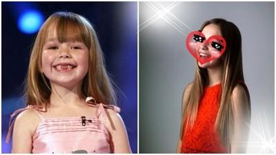記得愛唱歌的6歲小康妮?9年過去她完全變成少男殺手