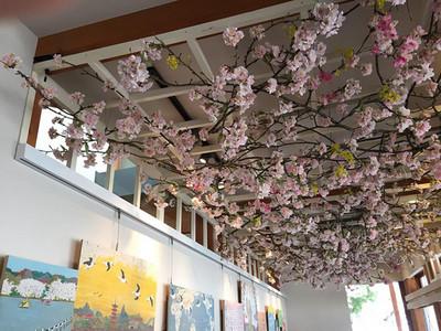 Plantica所裝飾設計的星巴克上野恩賜公園店的店内。