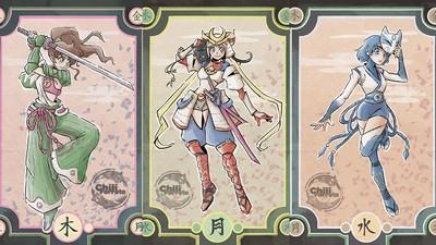 美少女戰士X日本傳統人物,驅魔師長這樣太sexy吧