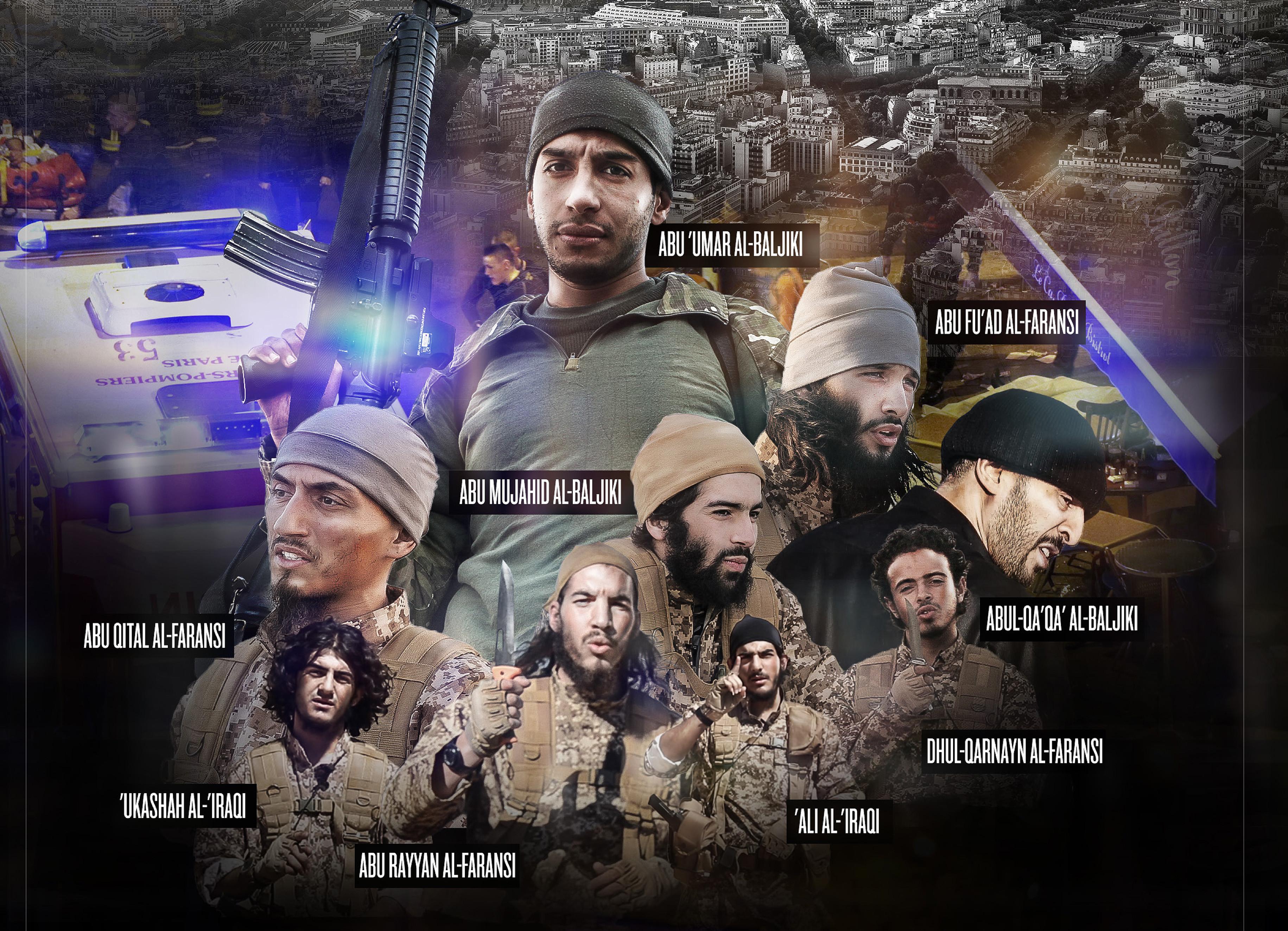 ▲伊斯蘭國有來自各國的聖戰士。(圖/達志影像/美聯社)
