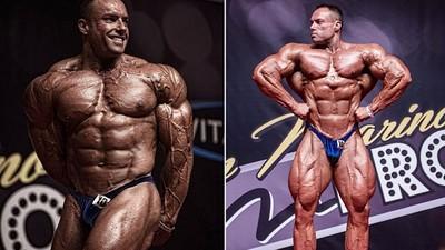 肌肉上爆滿青筋!澳洲健身狂人一周吃掉1.6萬