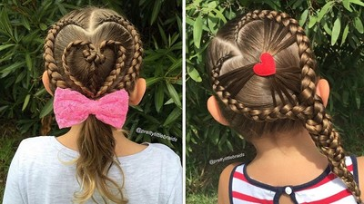 巧手媽媽超強「愛心編髮技」,看得我想認乾媽啊