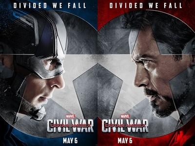 《美國隊長3》陣營海報釋出了!蜘蛛人選邊站變關鍵