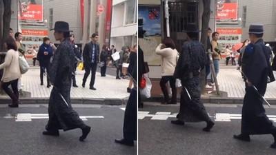 明治武士現身涉谷街頭,他們正在做的事情讓你意想不到