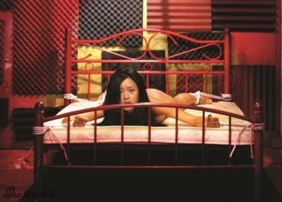 27歲女模文詠珊被SM緊縛!全裸呈「大」字型無法動彈