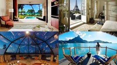 將無垠海景裝進窗框裡,世界房景最美飯店TOP10