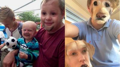神有事換臉照…我說你們別這樣對小孩和狗行嗎?