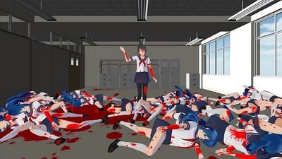 超獵奇‧模擬學生妹手遊,「砍妹」是門藝術