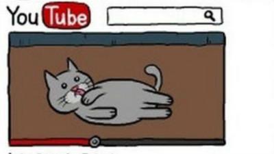 自虐小貓漫畫,描述現代人「渴望被按讚的心情」
