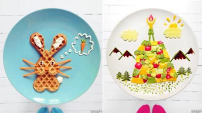 挪威媽的藝術擺盤,果然這裡是童話的故鄉啊