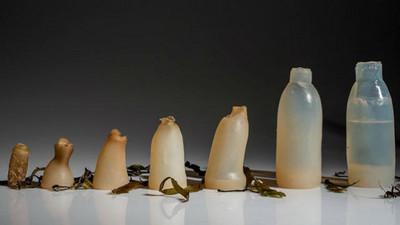 寶特瓶之人類浩劫?一款「水藻瓶」能100%自然分解