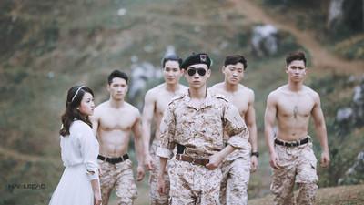 越南「太後」婚紗照!讓我當妳一生專屬的劉大尉吧❤