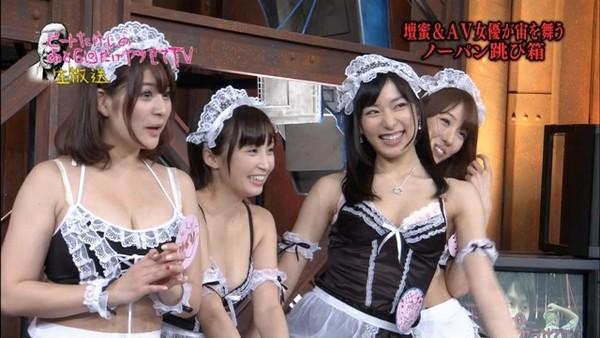 禁忌的透明跳箱,日本成人綜藝節目真的沒極限