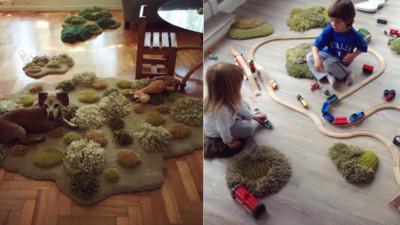 連狗狗都愛的自然系地毯~每個人都要有放鬆空間