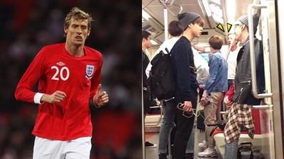 英格蘭足球選手也哈韓!地鐵巧遇偶像驚呆了嘴o_O