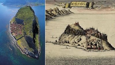 曾經是地中海最危險海盜窩,莫內姆瓦夏美得像童話
