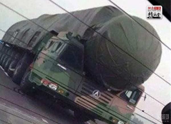 中國新型東風-41洲際彈道導彈。(圖/翻攝自大陸網站)