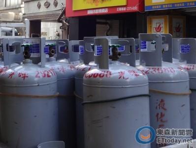3月桶裝瓦斯價不調整 天然氣每度漲0.26元