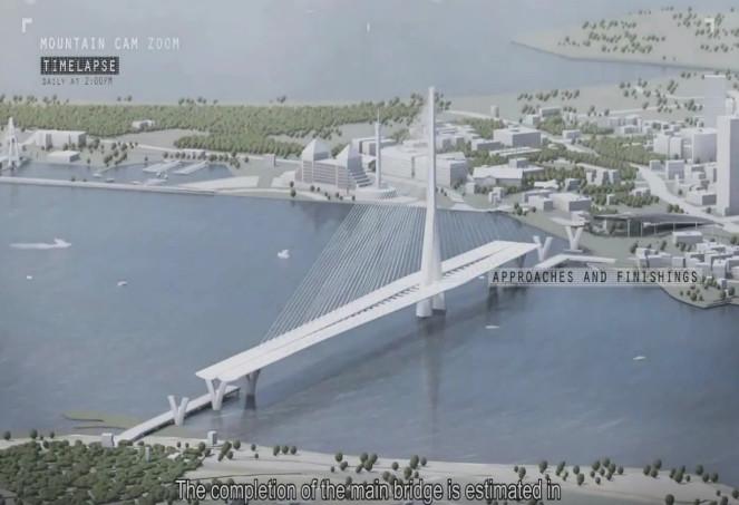 淡江大橋。(圖/公路總局提供)