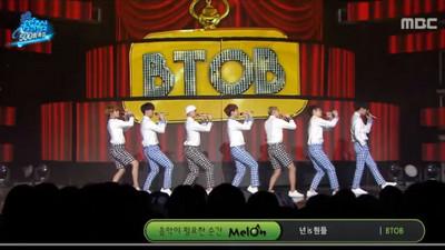 BTOB完美翻唱舞台背後,藏著成員們細心閃避的步伐…