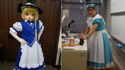 慶應大學開「宅男文化課」,正在Cosplay的是..教授!