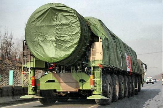 東風41導彈(圖/翻攝自大陸網站)