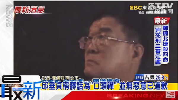 邱垂貞不滿被攔檢 飆國罵還嗆「我是立法委員耶!」