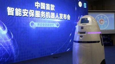 中國製防暴機器人!難道要以「爆」制暴嗎?