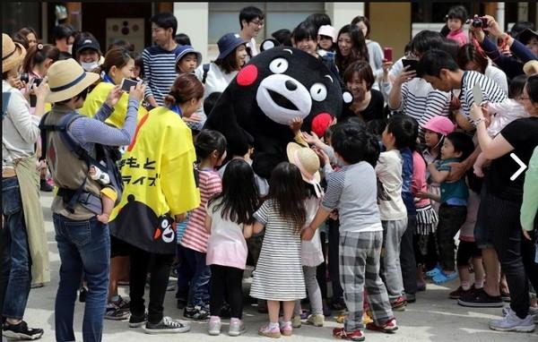 初代熊本熊3頭身嚇哭小朋友 原來牠的過去很坎坷...
