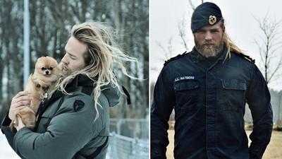 高顏值超man挪威軍官,這大肌肌我可以啊啊啊