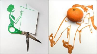 生活單調乏味?藝術家用腦補藝術化腐朽為神奇給你看!