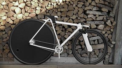 一看就想入手「夢幻自行車」!完全被36吋後輪給震懾