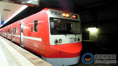 台日友好! 阿福號變身紅色京急電鐵