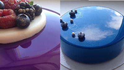 來自俄羅斯的「鏡面蛋糕」,瞧你在蛋糕裡笑得多燦爛