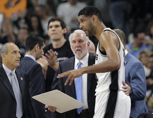 NBA季後賽/自豪馬刺不放棄 波波:我們碰上更強對手