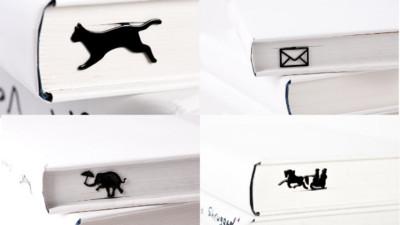 來自烏克蘭的《小巧書籤》,讓小貓咪奔馳在秘密角落