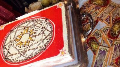 老婆~切下這顆庫洛魔法使蛋糕,連我一起封印吧❤