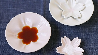 桌上怎有朵醬油花?櫻花醬汁碟讓你優雅搵島尤❀