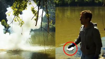 一大塊「鈉」丟入水中=鞭炮連連爆~屌炸了