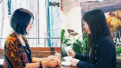 姊妹要出國了!「遠距離閨蜜」用雙重照片緊繫12年友誼