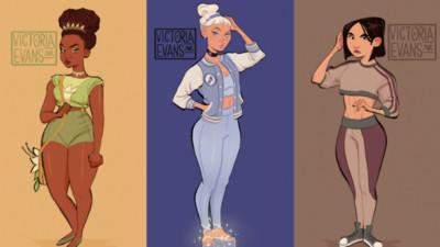 少女時期的迪士尼公主~這叛逆的味道才叫童年