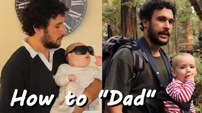 明明是新手爸爸教學影片,卻讓男女觀眾都忍不住大笑!