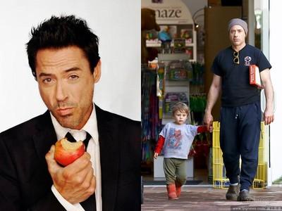 小勞勃道尼4歲兒不甩鋼鐵人老爸 只穿「蜘蛛人衣服」