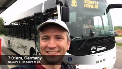 24小時內快闖歐洲12國,挑戰世界紀錄的背後還有故事