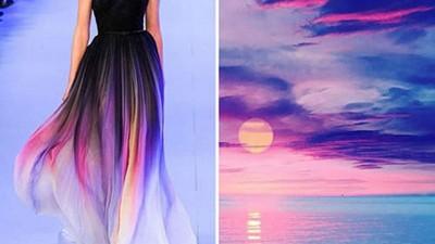 將自然之美穿上身❤絕美晨光、紫藤禮服妳最想穿哪件?